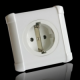 Oyaide SWD-XXX-e european type wall outlet