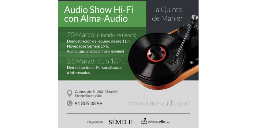 Audio Show Hi-Fi con Alma-Audio